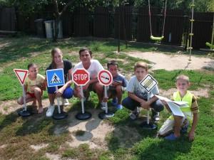Interaktívna forma dopravnej výchovy v DeD Veľké Kapušany.